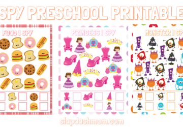 I SPY PRESCHOOL PRINTABLES