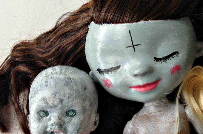 DIY Halloween Dolls