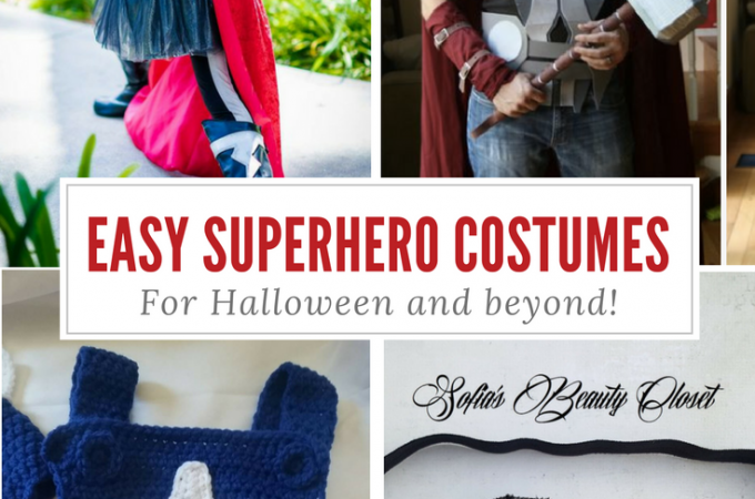 Easy Superhero Costumes to Make Every Day Super!