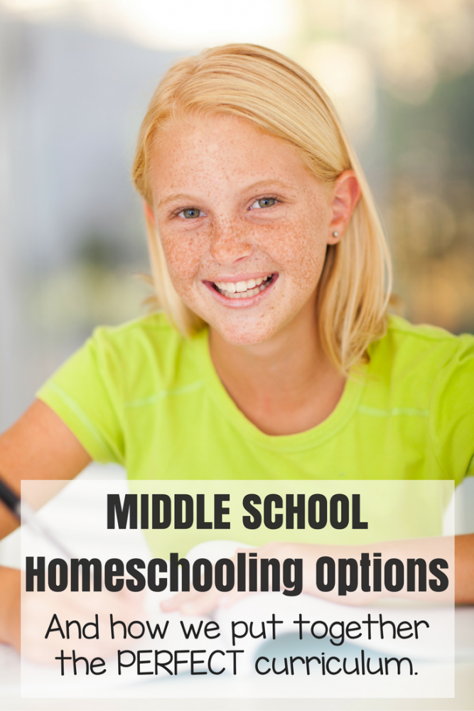 Middle School Homeschooling Options