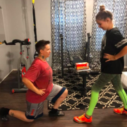 mother daughter workout
