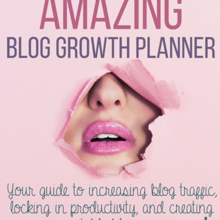 The Amazing Blog Growth Planner