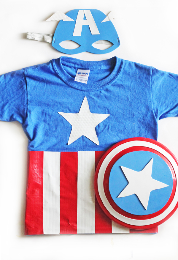 DIY Captain America Costume