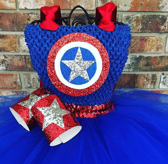Captain America Girl Costume