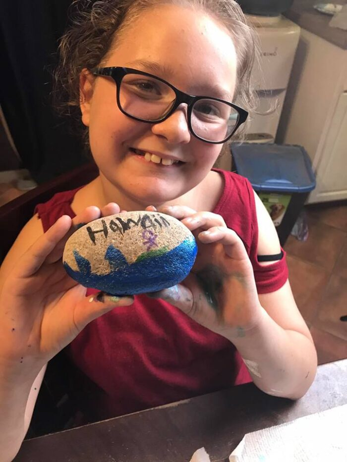 Mother Daughter Activity: Spread Kindness with Painted Rocks!