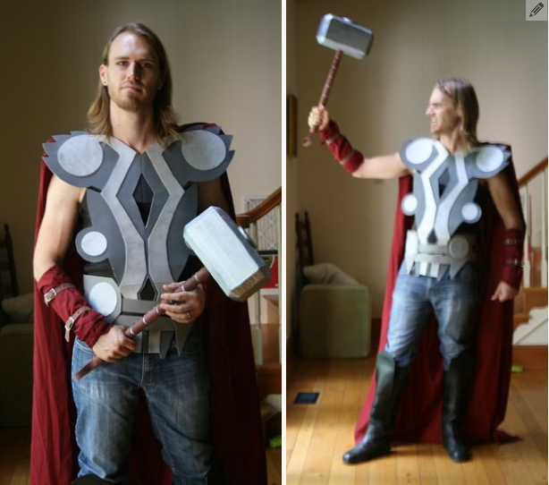 Thor Costume DIY
