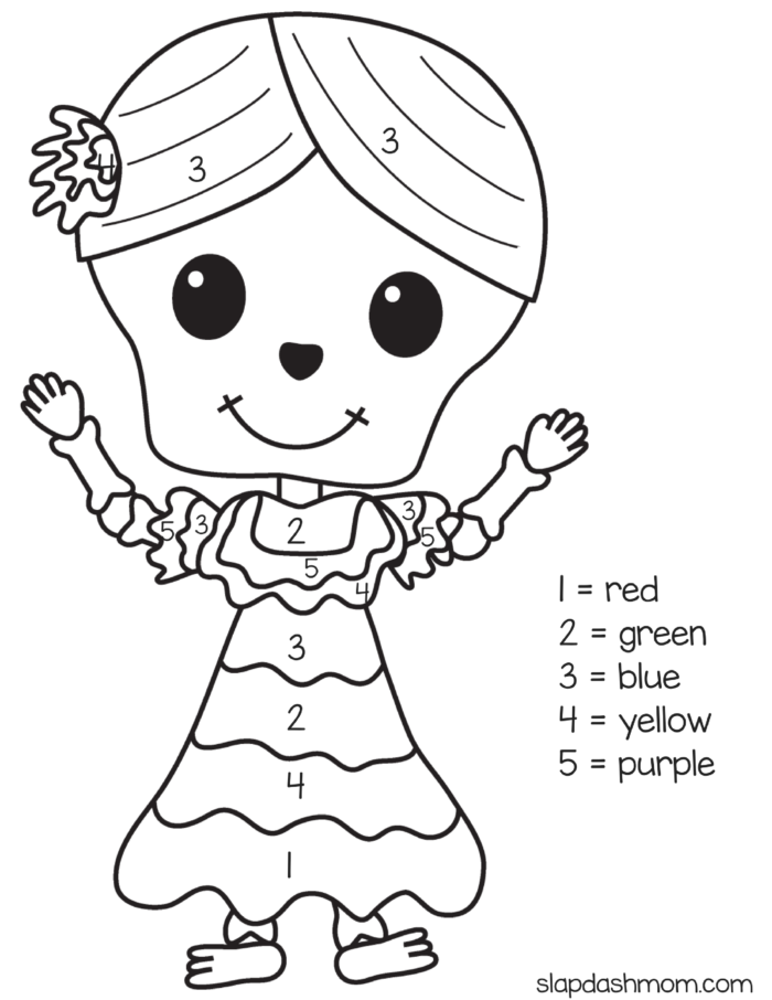 day of the dead coloring pages - Dia De Los Muertos Coloring Pages