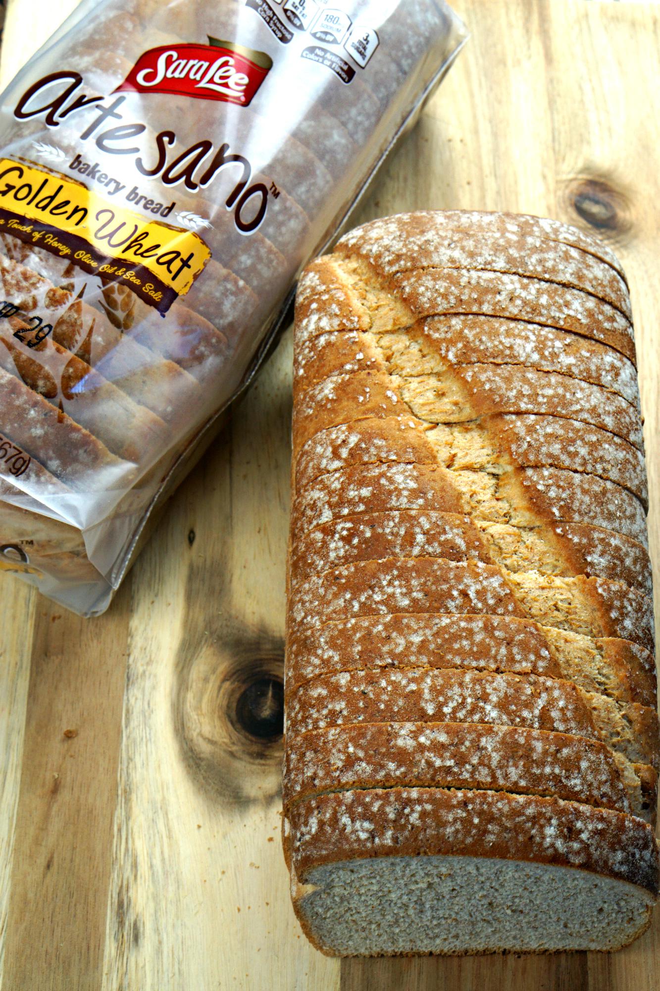 Leftover Grilled Turkey Sandwich | Sara Lee Artesano Golden Wheat Bread