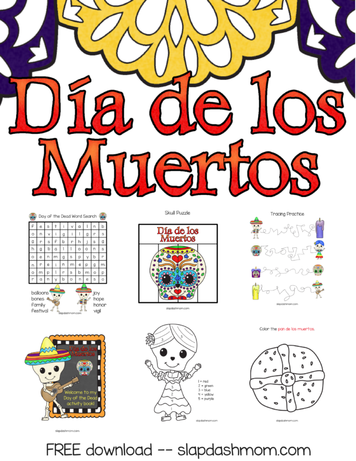 - Day Of The Dead For KidsDia De Los Muertos Unit Study Slap Dash Mom