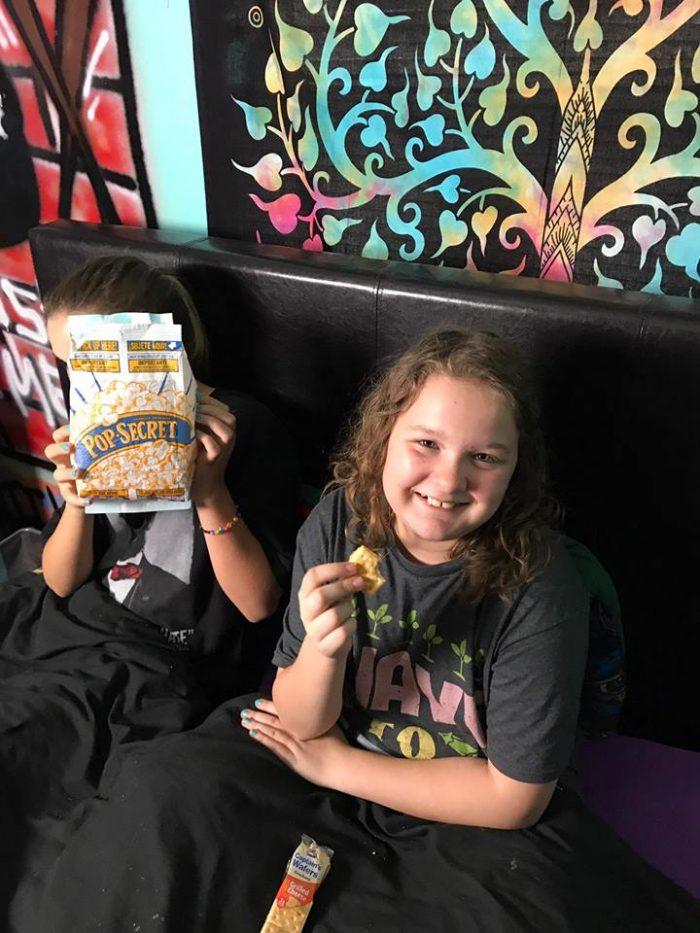 Movie Night Snacks and Fun