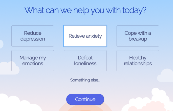 Free Online Therapy for Anxiety