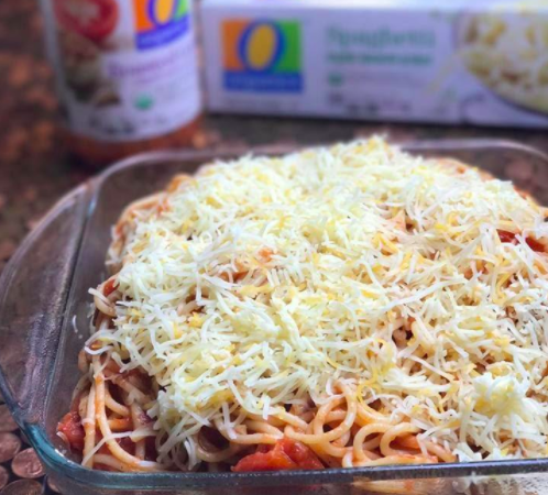 Easy Spaghetti Casserole Recipe