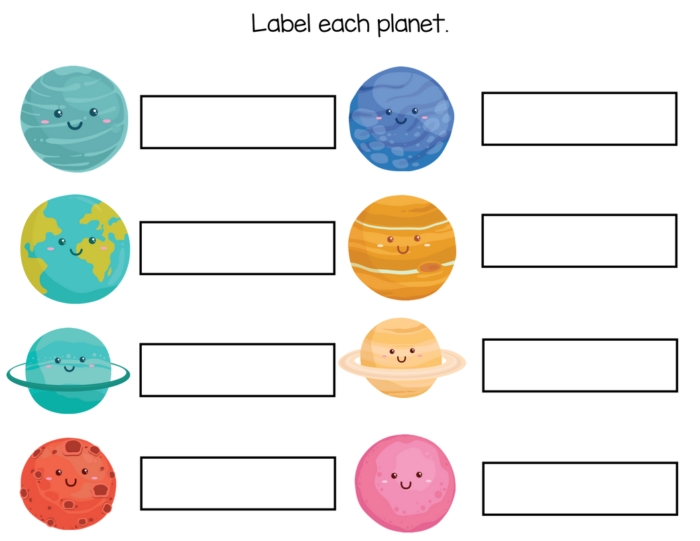 10++ Luxurious solar system worksheets for kids ideas in 2021