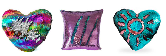 mermaid pillows to help anxiety