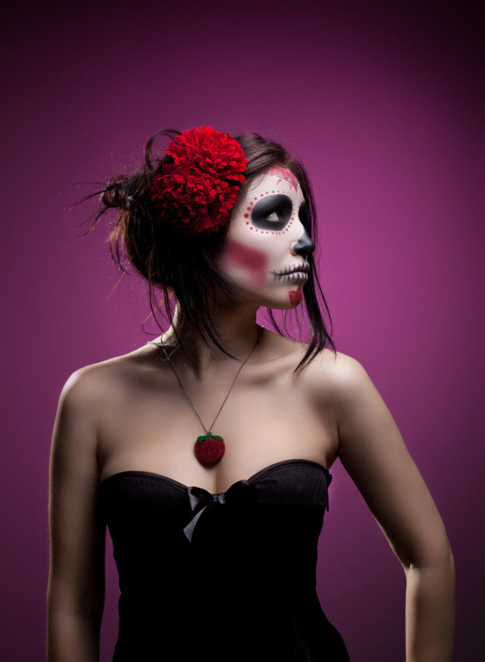 sugar skull makeup tutorials