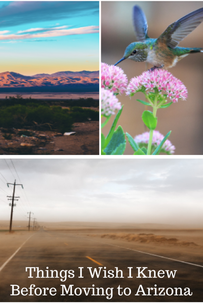 Things I Wish I Knew Before Moving to Arizona