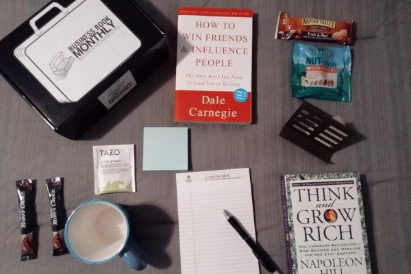 business book monthly subscription box