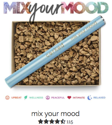 corked portable aromatherapy pen