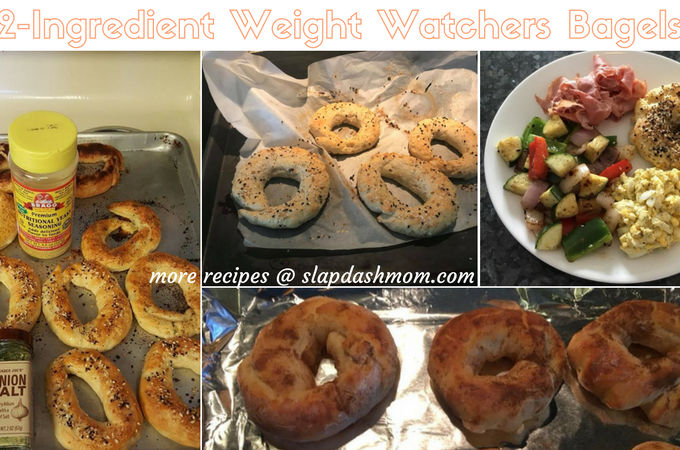 2 Ingredient Weight Watchers Bagel Recipe – 3 SmartPoints Freestyle