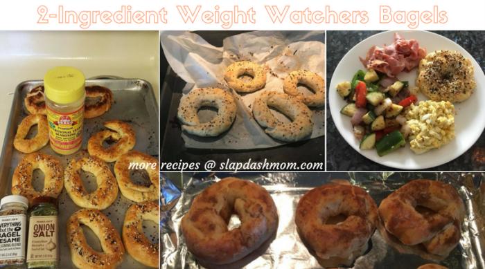 2-Ingredient Weight Watchers Bagels