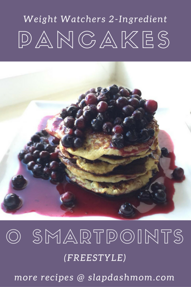 2 Ingredient Weight Watchers Pancakes