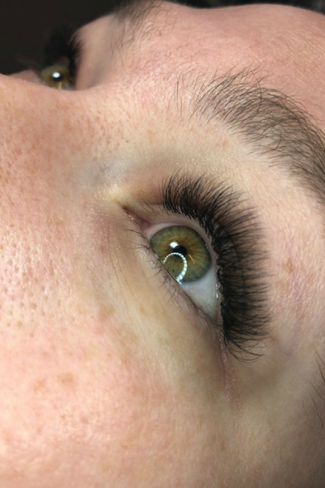First Time Getting Eyelash Extensions