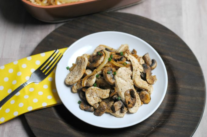 Weight Watchers Dinner: Chicken Skillet (0 Weight Watchers Freestyle Points)