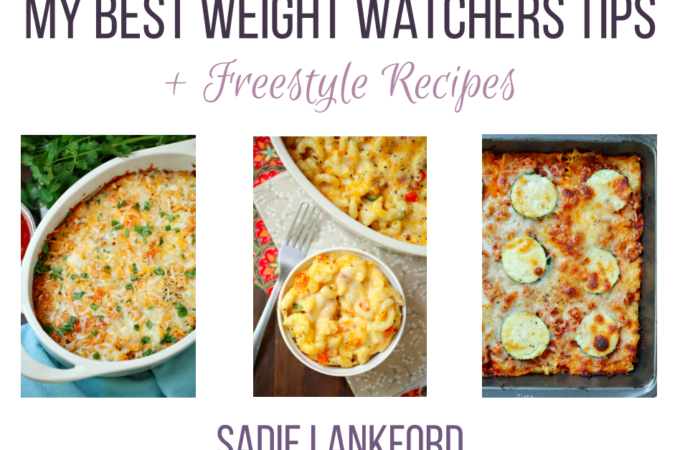 Free Weight Watchers Freestyle Cookbook