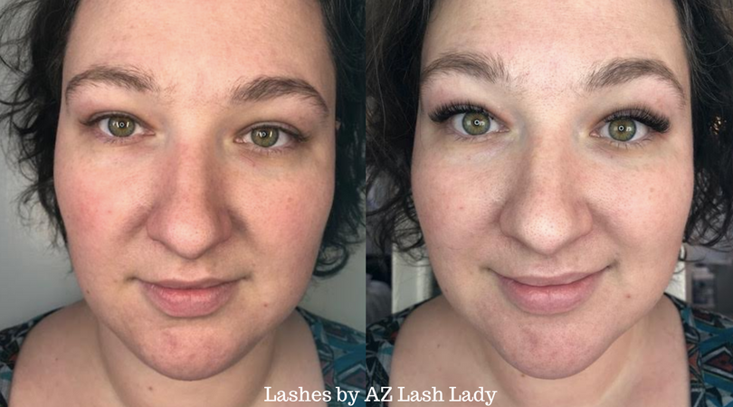 First Time Getting Eyelash Extensions Az Lash Lady Review