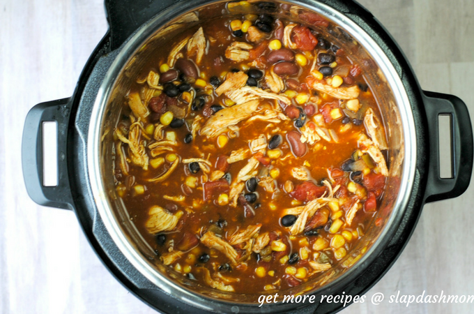 Instant Pot Chicken Taco Soup (0 Point Weight Watchers Freestyle)