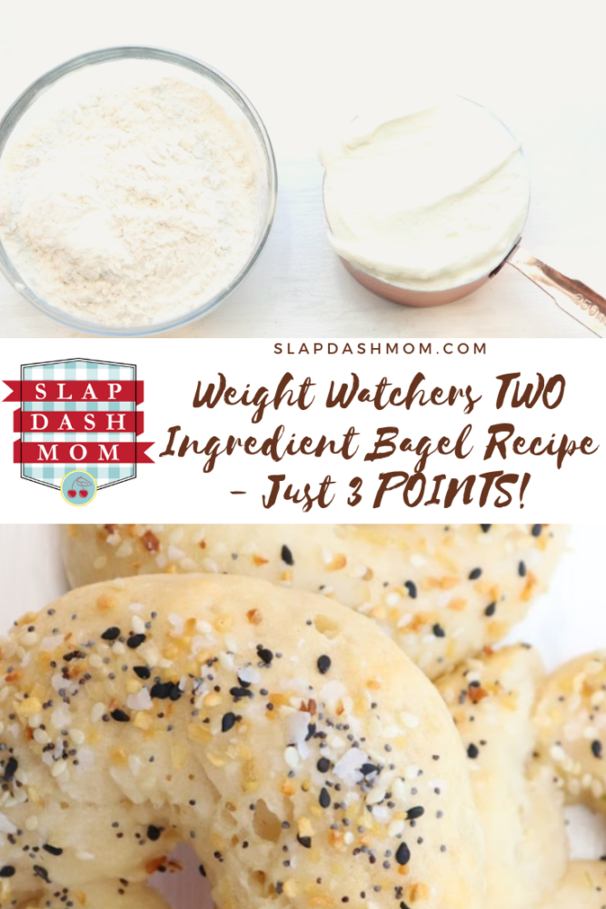 Weight Watchers Inspired 3 Point - 2 Ingredient Bagels