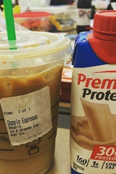 starbucks premier protein