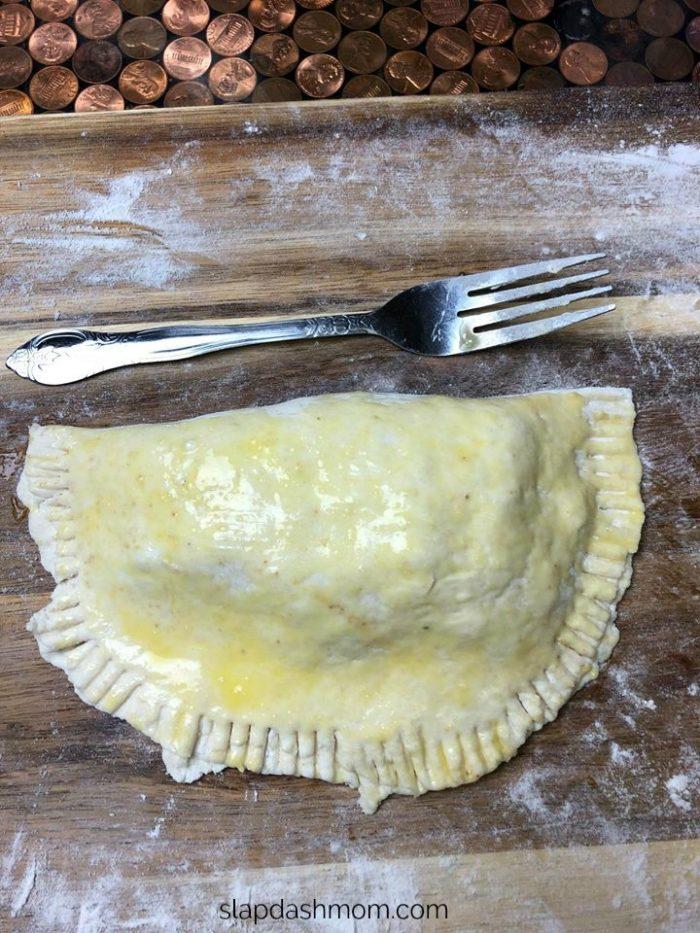 2 ingredient dough empanadas