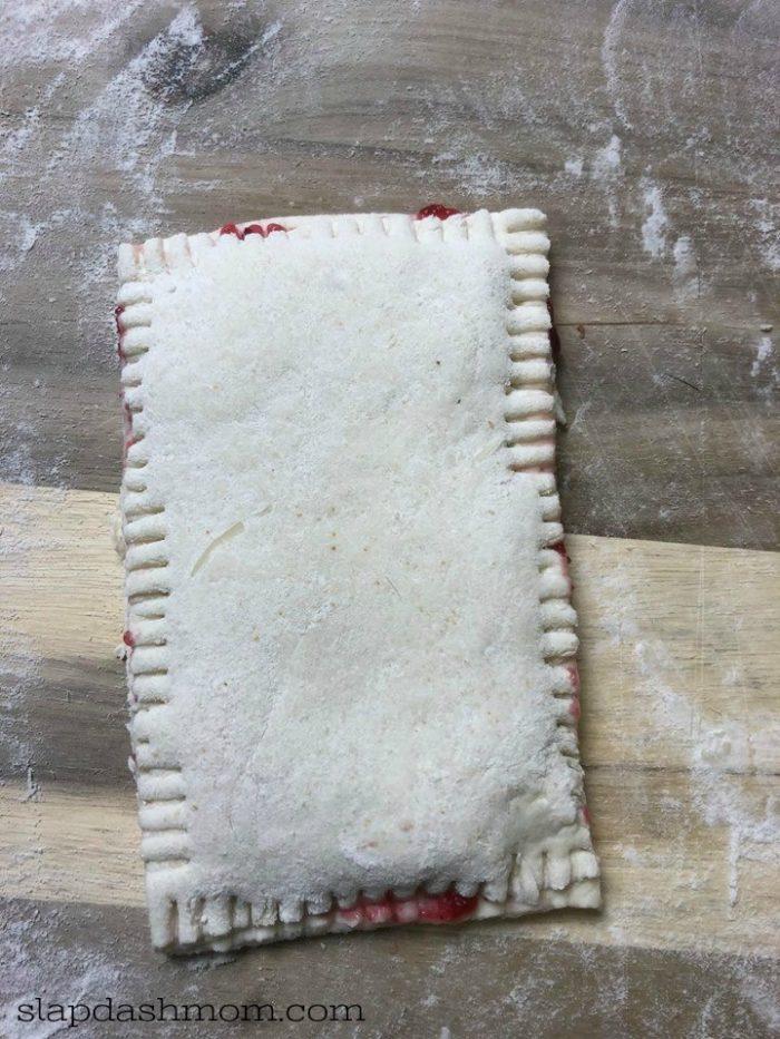 2 ingredient dough pop tart weight watchers
