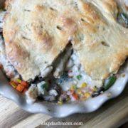 2 ingredient dough pot pie recipe