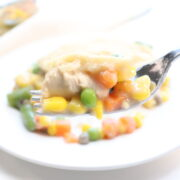 Weight Watchers - Friendly Chicken Pot Pie - 2 Points