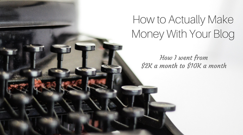 how to make more money blogging