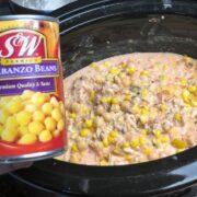 queso chicken chili crock pot