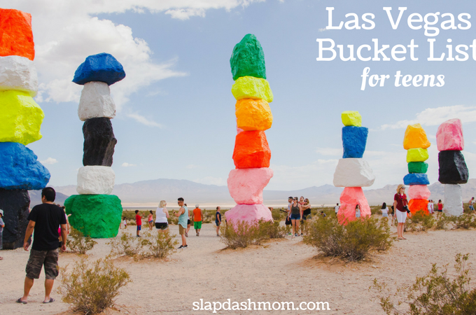 Las Vegas Bucket List for Teens