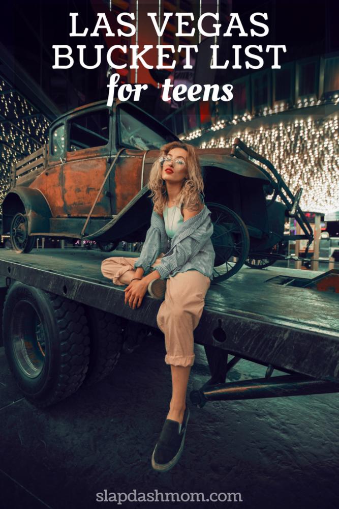 las vegas bucket list for teens