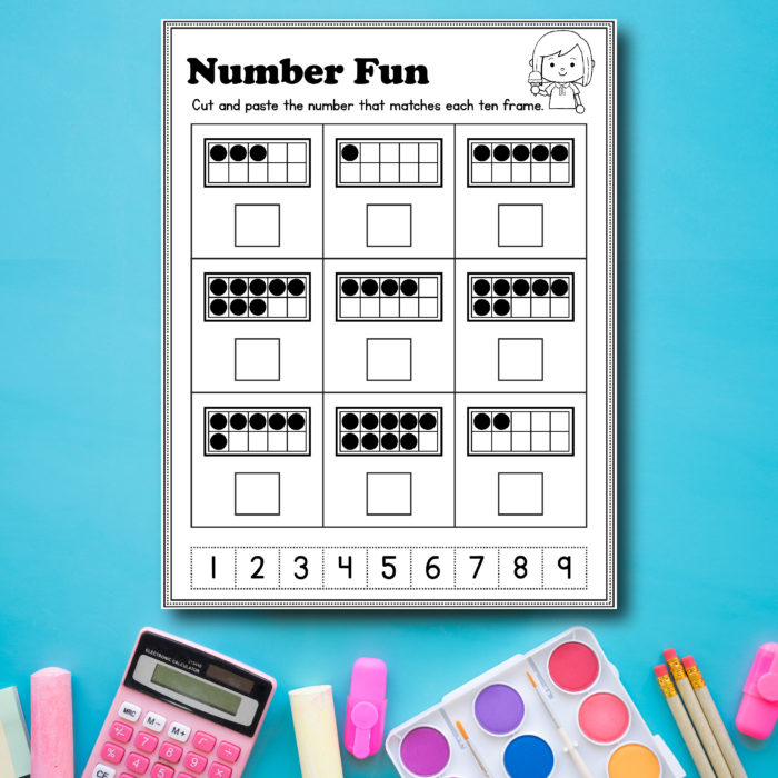 Preschool Math and Literacy Worksheets – Free Printables – Slap Dash Mom
