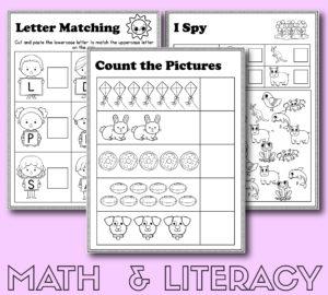 Preschool Detective Unit Study Resources | Slap Dash Mom