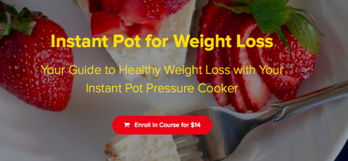 instant pot weight loss