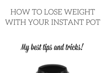 lose weight with instant pot