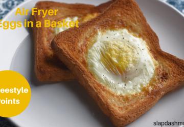 Air Fryer Eggs in a Blanket