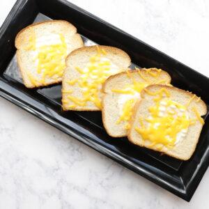 AF Eggs in a basket on plate