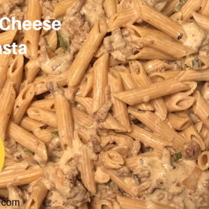 Philly Cheese Pasta