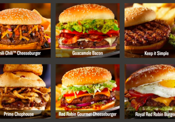 weight watchers red robin points