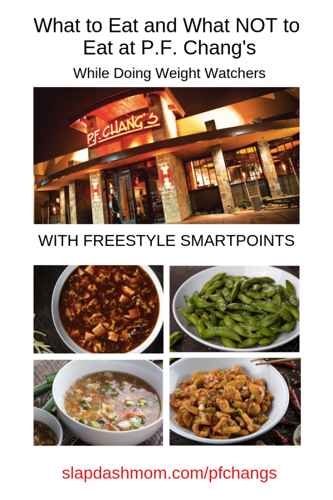 P.F. Chang's Weight Watchers Guide