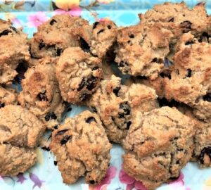 Full batch of Weight Watchers 6 point chocolate chip cookies